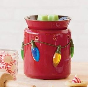NEW Scentsy Holiday Lights Warmer